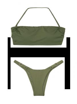 Фото NEW! Стильный купальник Double Back Tie от Victoria's Secret - Moss