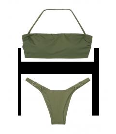 NEW! Стильный купальник Double Back Tie от Victoria's Secret - Moss