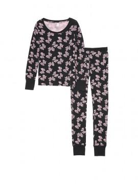 Фото Термопижамка от Victoria's Secret - Pink Black Bows