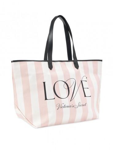 Стильная сумка-шоппер от Victoria's Secret - Pink