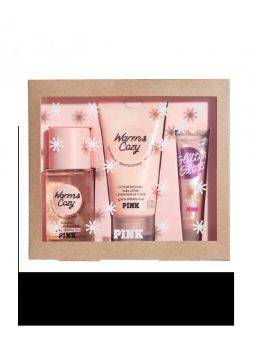 Набор косметики из серии Victoria's Secret PINK - Warm & Cozy