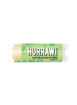 Фото Бальзам для губ Hurraw! Baobab Banana Lip Balm