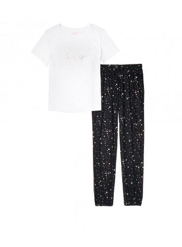 Пижама Cotton & Flannel от Victoria's Secret - Black Stars