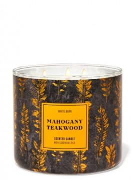 Фото Свеча Mahogany Teakwood от Bath and Body Works
