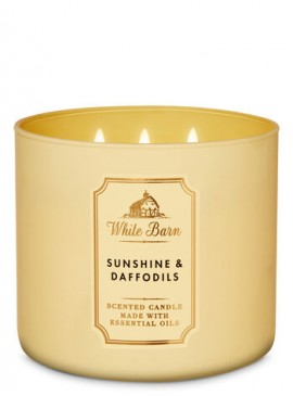 Фото Свеча Sunshine & Daffodils от Bath and Body Works