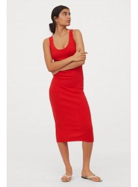 Фото Стильное платье H&M - Red
