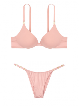 Фото Комплект белья Push-up из серии Very Sexy от Victoria's Secret - Demure Pink