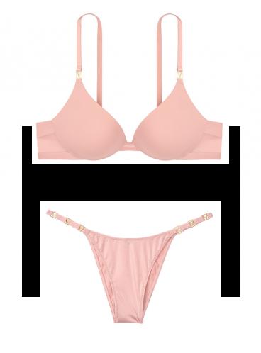 Комплект белья Push-up из серии Very Sexy от Victoria's Secret - Demure Pink