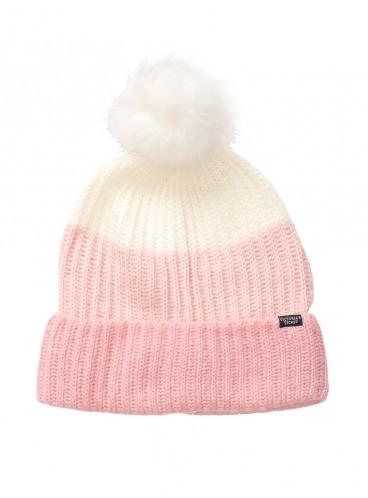 Стильная шапка Pom-Pom Hat от Victoria's Secret - Blush