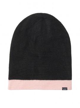 Фото Стильная шапка Reversible Hat от Victoria's Secret - Black Pink