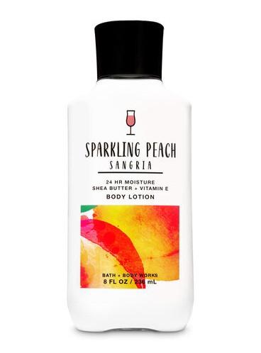 Увлажяющий лосьон Sparkling Peach Sangria от Bath and Body Works