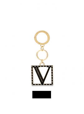 Фото Стильный брелок Charm Keychain от Victoria's Secret - Black Lily
