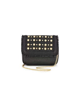 Фото Стильная микро-сумочка The Victoria Micro Shoulder Bag от Victoria's Secret - Black Lily