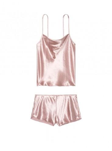 Пижамка из коллекции Cowl-Neck Satin от Victoria's Secret - French Mauve
