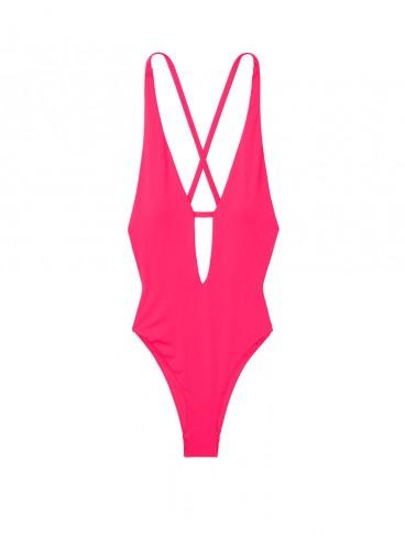 NEW! Стильный монокини V-plunge от Victoria's Secret - Watermelon