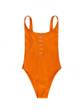 Фото NEW! Стильный монокини Ribbed Hook Front Tank One-piece от Victoria's Secret - Mango