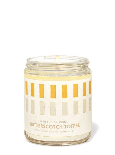 Свеча Butterscotch Toffee от Bath and Body Works