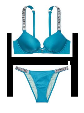 Фото NEW! Стильный купальник Shine Strap Bali Bombshell Bikini от Victoria's Secret - Cosmo