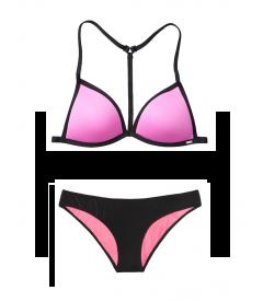 Купальник Push-Up Triangle от Victoria's Secret PINK - Neon Bubble