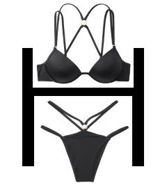 NEW! Стильный купальник Malibu Love Fabulous от Victoria's Secret - Nero
