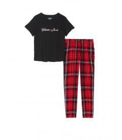 Пижама Cotton & Flannel от Victoria's Secret - Big Red Plaid