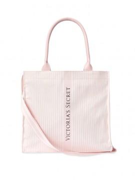 Фото Стильная сумка-шоппер от Victoria's Secret - Stripe Pink