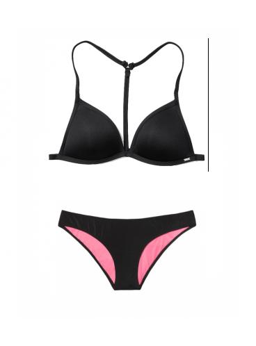 Купальник Push-Up Triangle от Victoria's Secret PINK - Pure Black