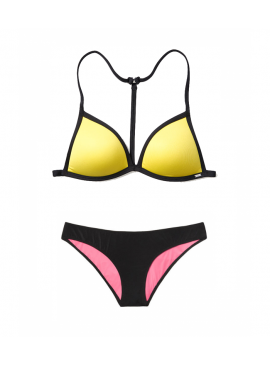 More about Купальник Push-Up Triangle от Victoria's Secret PINK - Lemon Sorbet