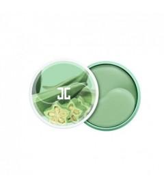 Патчи под глаза Jayjun Okra Green Tea Eye Gel Patch (60шт.)