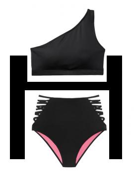Фото Купальник One-Shoulder от Victoria's Secret - Pure Black