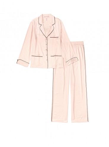 Сатиновая пижама от Victoria's Secret - Pink Fizz Vs Graphic