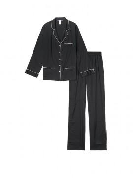 Фото Сатиновая пижама от Victoria's Secret - Black
