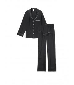 Сатиновая пижама от Victoria's Secret - Black