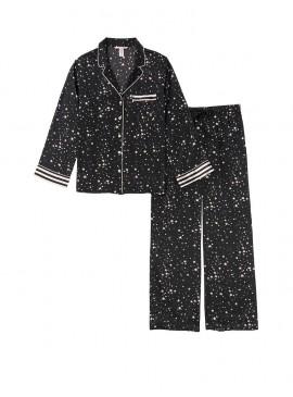 Фото Сатиновая пижама от Victoria's Secret - Black Stars