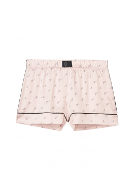 Фото Пижамные шорты Satin Short от Victoria's Secret - Pink Fizz Logo V
