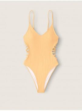 Фото Стильный рифленый купальник-монокини Victoria's Secret PINK - Honeycomb
