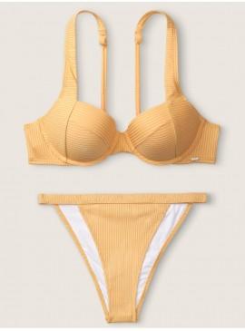 Фото Стильный купальник Ribbed Push Up от Victoria's Secret - Honeycomb