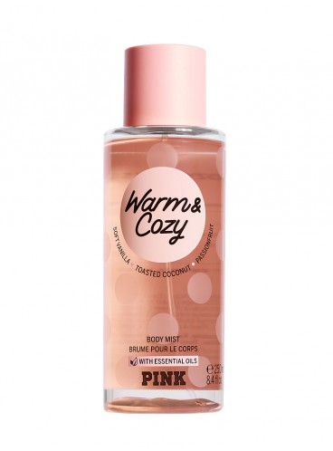 Спрей для тела PINK Warm & Cozy (body mist)