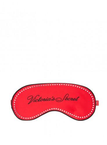 Сатиновая маска для сна от Victoria's Secret - Lipstick