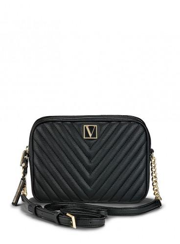 Стильная сумка Victoria Top Zip Crossbody от Victoria's Secret - Black Lily