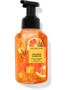 Фото Пенящееся мыло для рук Bath and Body Works - Orange Sunrise
