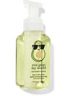 Фото Пенящееся мыло для рук Bath and Body Works - Cucumber Melon