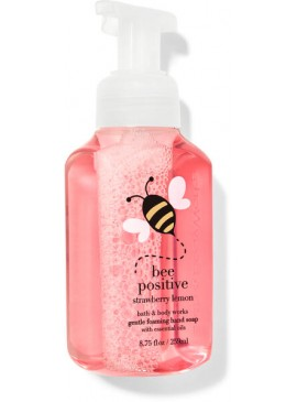 Фото Пенящееся мыло для рук Bath and Body Works - Strawberry Lemon