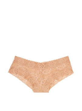 Фото Кружевные трусики-чики из коллекции The Lacie от Victoria's Secret - Sweet Praline