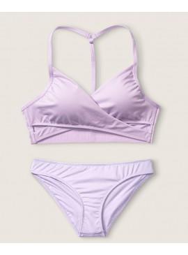 Фото Купальник Gym to Swim Bodywrap от Victoria's Secret PINK - Cabana Purple