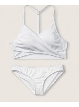 Фото Купальник Gym to Swim Bodywrap от Victoria's Secret PINK - Optic White