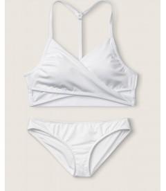 Купальник Gym to Swim Bodywrap от Victoria's Secret PINK - Optic White