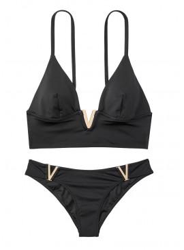 Фото NEW! Стильный купальник Monaco V-Hardware от Victoria's Secret - Black