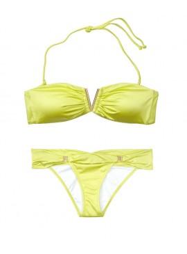 Фото NEW! Стильный купальник Venice V-hardware Bandeau от Victoria's Secret - Limeade