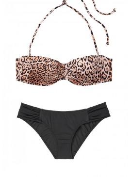 Фото Стильный купальник Malta Bandeau от Victoria's Secret - Natural Leopard